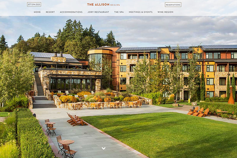 The Allison Inn and Spa Newberg, Oregon