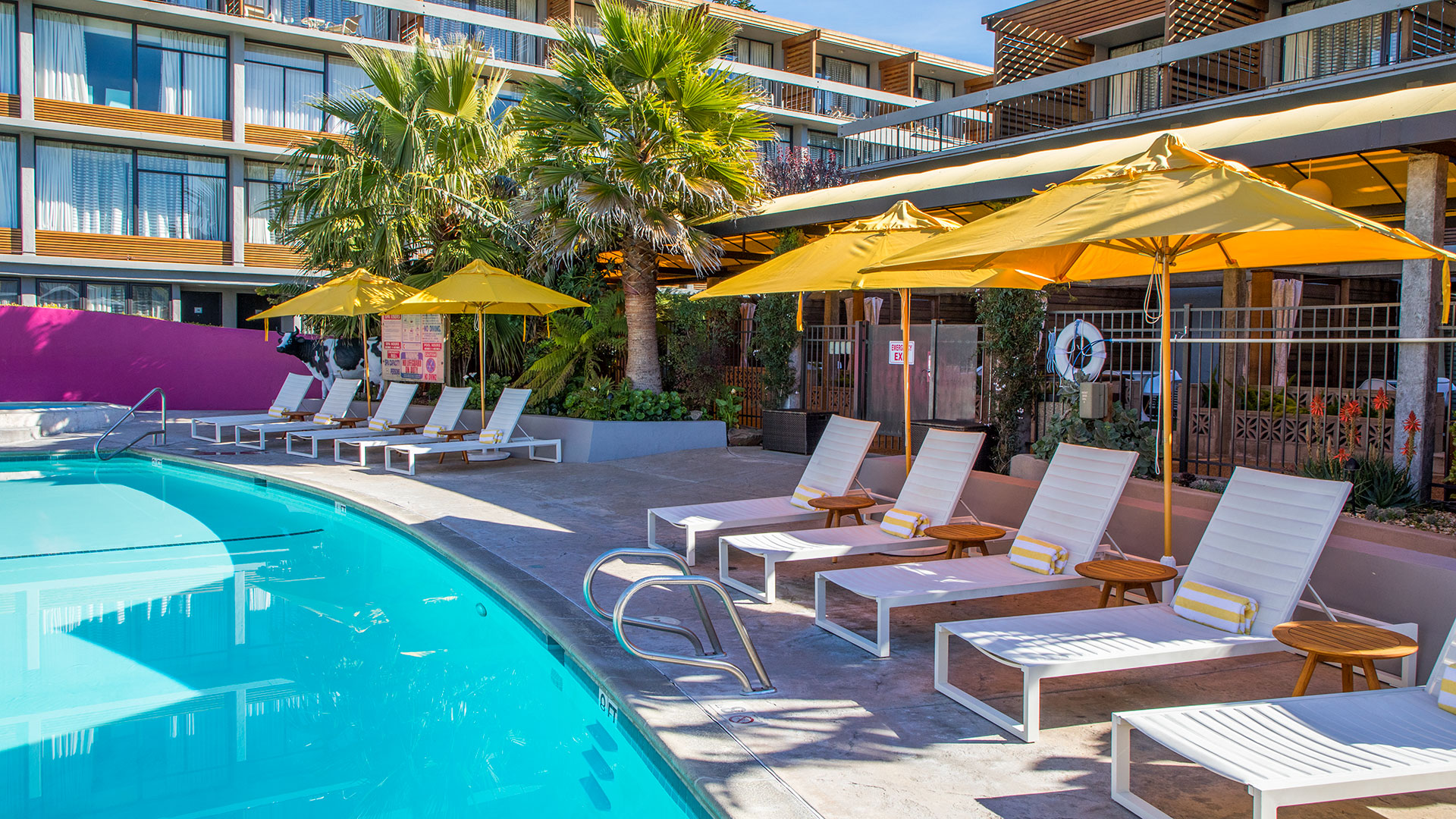 Carmel Mission Inn Outdoor Pool Area