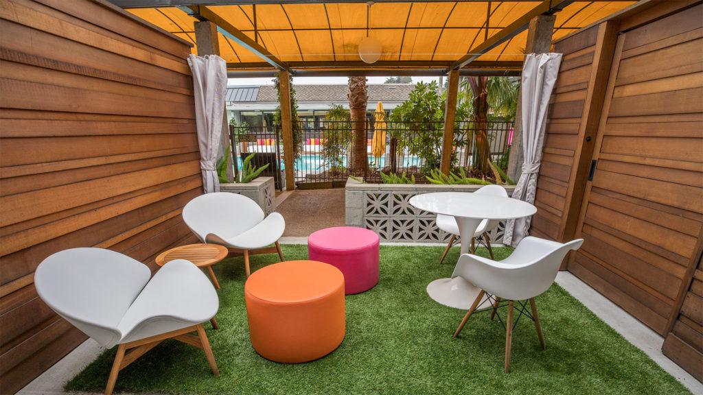 Carmel Mission Inn Ground-Floor Guestroom Patio