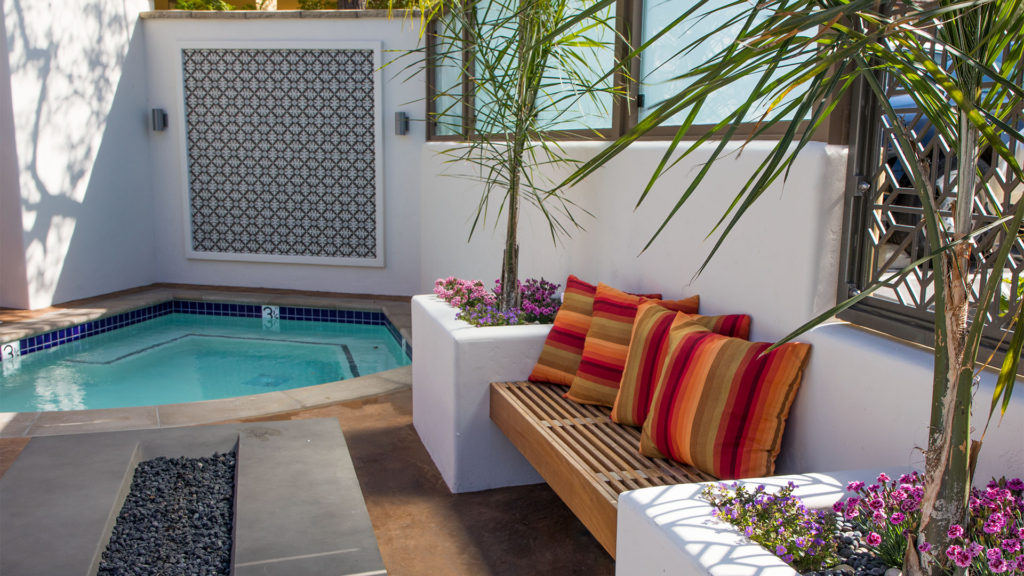 Hotel Abrego Outdoor Spa