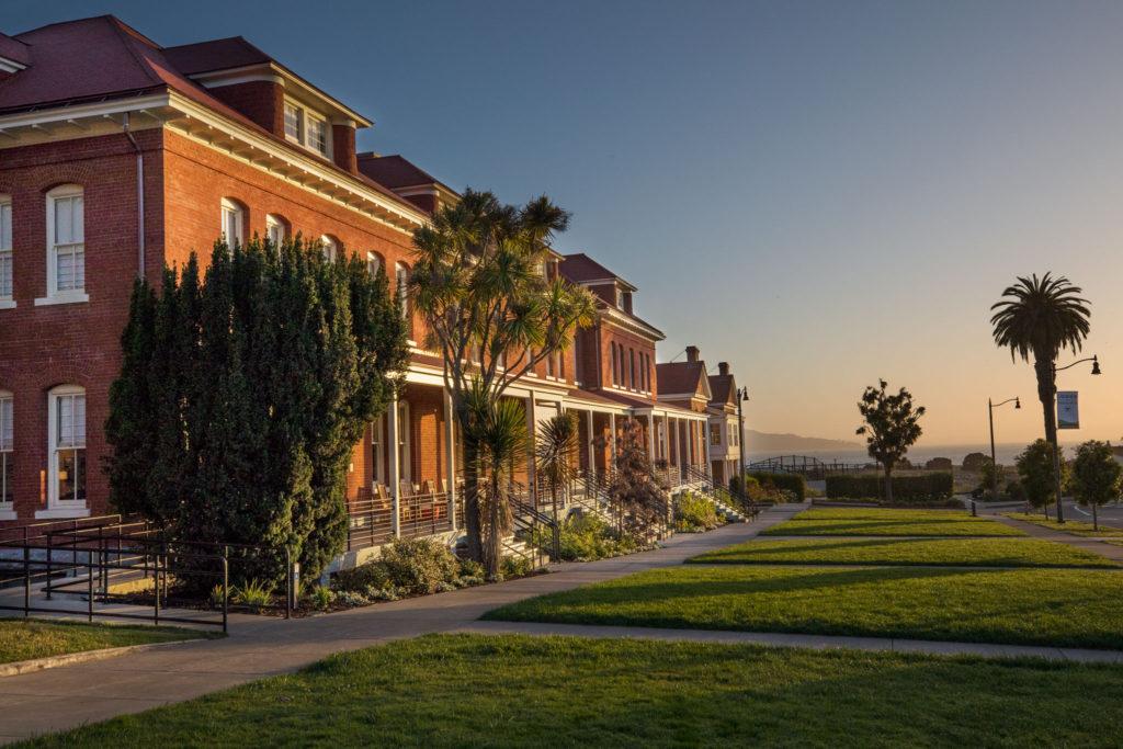 Lodge at the Presidio And The San Francisco Bay
