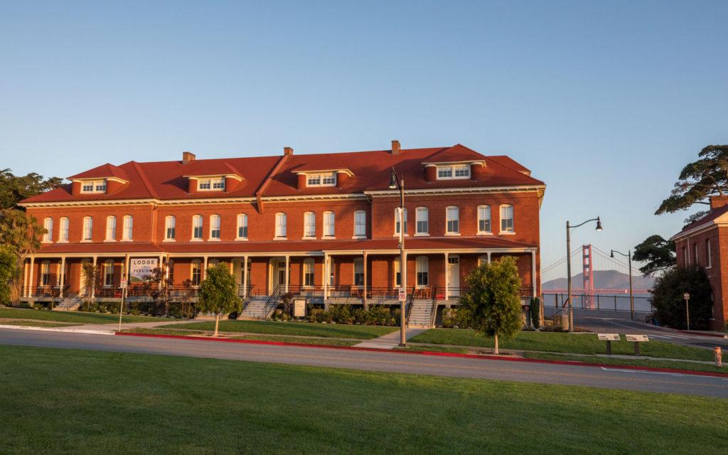 Lodge at the Presidio Front Entrance
