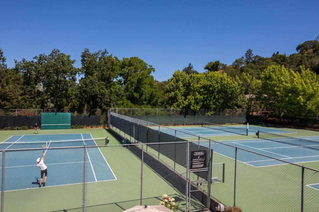 Flamingo Resort Health Club Tennis Courts